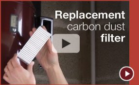 Cyclo Vac Dust Carbon filter replacement