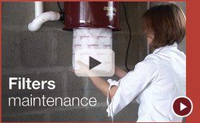 Cyclo Vac filters maintenance